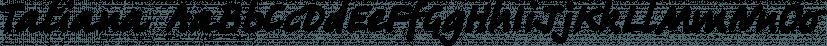 Tatiana font family by ParaType
