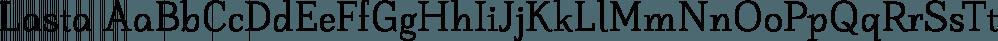 Lasta font family by Tour de Force Font Foundry