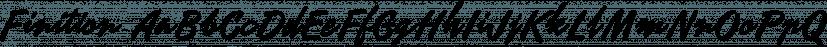 Finition font family by Måns Grebäck