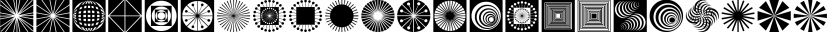 Opz Popz JNL font family by Jeff Levine Fonts