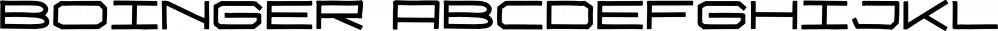 Boinger font family by Letterhend Studio