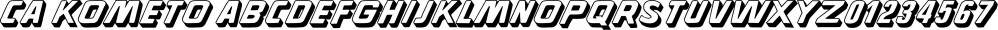CA Kometo font family by Cape Arcona Type Foundry
