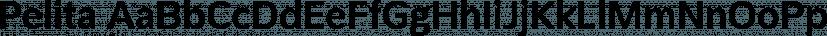 Pelita font family by Lafontype