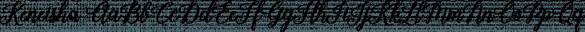Keneisha font family by Seniors Studio