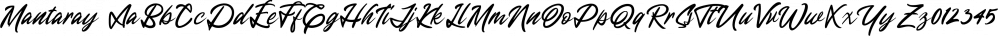 Mantaray font family by Letterhend Studio