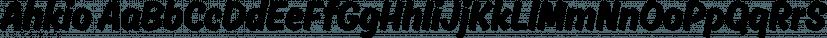 Ahkio font family by Mika Melvas