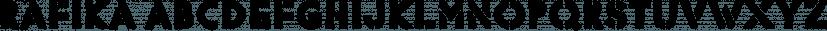 Rafika font family by Typodermic Fonts Inc.