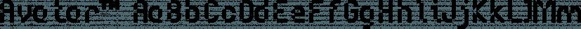 Avatar™ font family by MINDCANDY