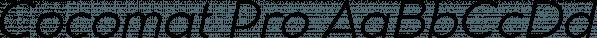 Cocomat Pro font family by Zetafonts