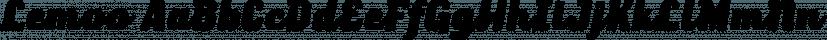 Lemoo font family by Locomotype