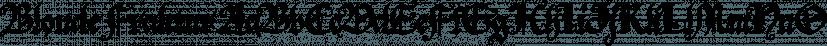 Blonde Fraktur font family by ParaType