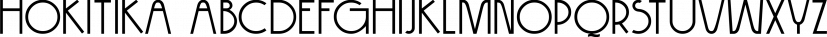 Hokitika font family by Hanoded