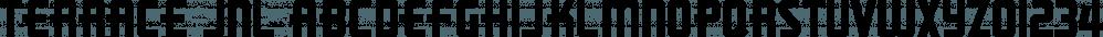 Terrace JNL font family by Jeff Levine Fonts
