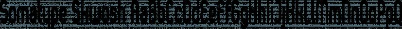Somatype Skwosh font family by ArtyType
