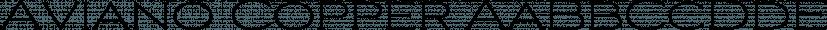 Aviano Copper font family by Insigne Design
