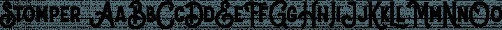 Stomper font family by Letterhend Studio
