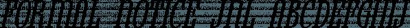 Formal Notice JNL font family by Jeff Levine Fonts