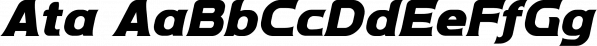 Ata font family by Bülent Yüksel