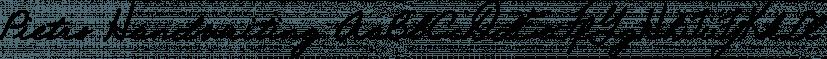 Pietro Handwriting font family by SoftMaker