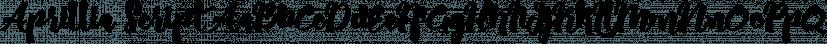 Aprillia Script font family by olexstudio