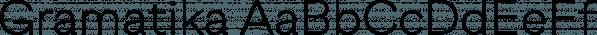 Gramatika font family by Tokotype