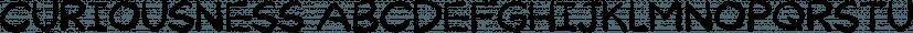 Curiousness font family by Bogstav