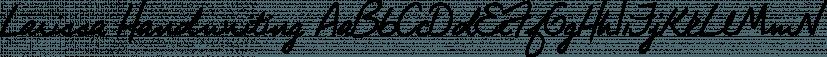 Larissa Handwriting font family by SoftMaker