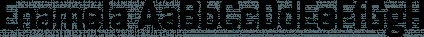 Enamela font family by K-Type