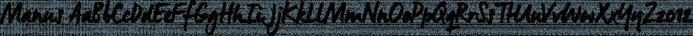 Manus font family by JOEBOB Graphics