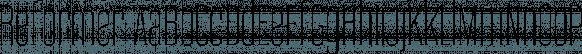 Reformer font family by Jadugar Design Studio
