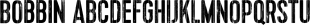 Bobbin font family mini