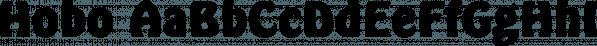 Hobo font family by SoftMaker