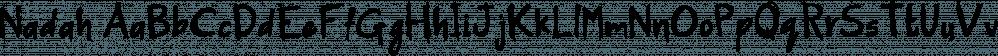 Nadah font family by Konstantina Louka