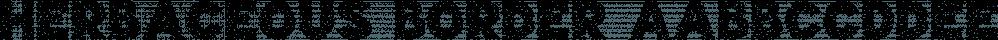 Herbaceous Border font family by Lauren Ashpole