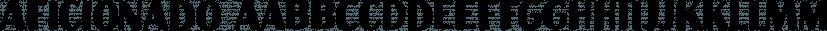 Aficionado font family by Hanoded