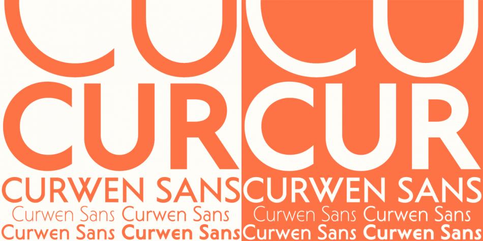Download Curwen Sans Font Family